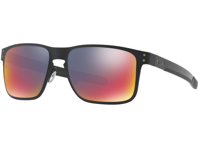 Oakley Holbrook Metal Glasses, matte black/positive red iridium